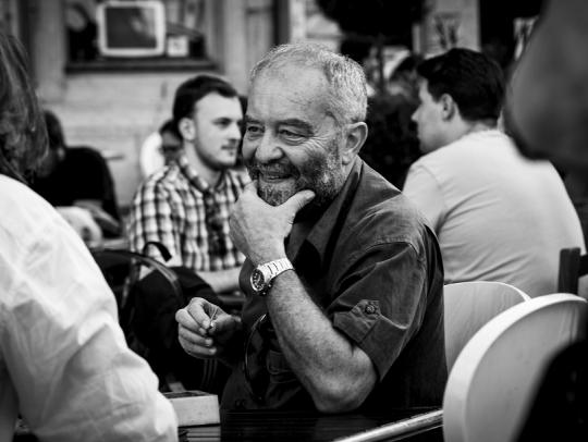 György Báron film aesthete, film critik
